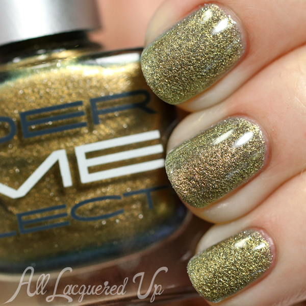 Dermelect Gilded for Fall 2014 - Glossy via @AllLacqueredUp