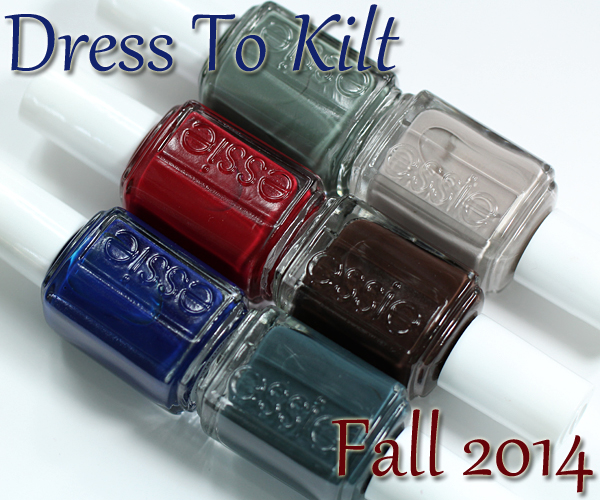 Essie Fall 2014 - Dress To Kilt via @alllacqueredup