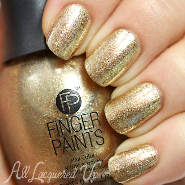 FingerPaints Masked Beauty from Masquerade Affair via @AllLacqueredUp