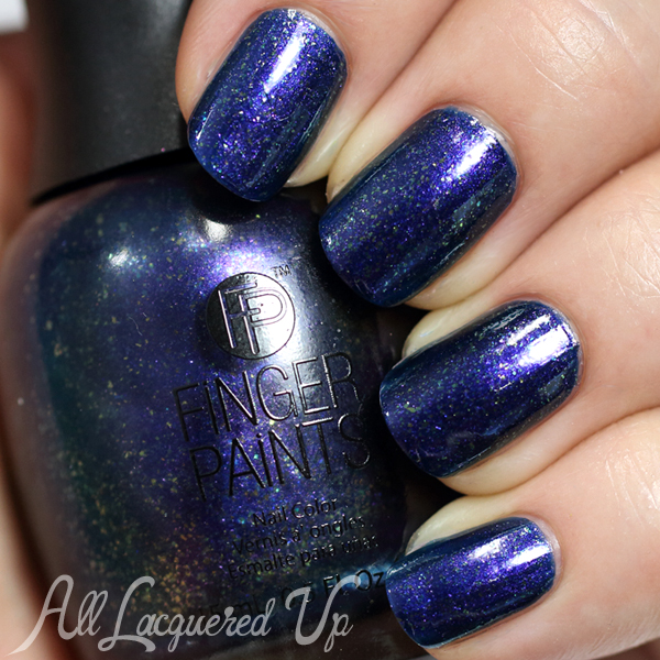 FingerPaints Queen For A Night from Masquerade Affair via @AllLacqueredUp