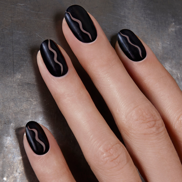 JINsoon Fall 2014 Tess Giberson nail art via @AllLacqueredUp