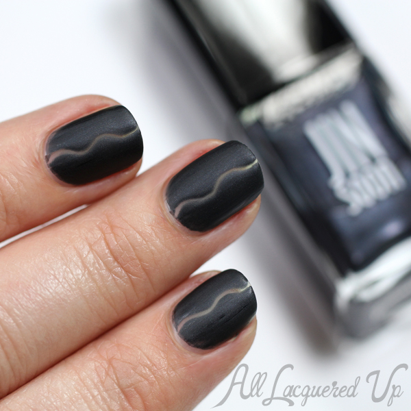 JINsoon Negative Space Nail Art via @AllLacqueredUp