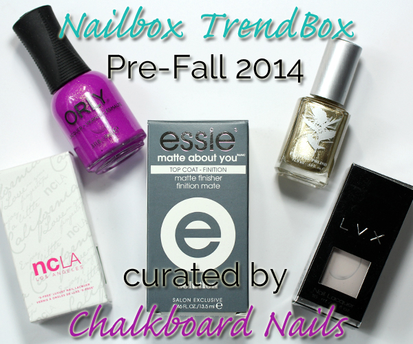 Nailbox Trendbox Pre-Fall 2014 via @alllacqueredup