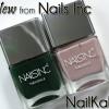 New! Nails Inc Nailkale Nail Polish Swatches & Review