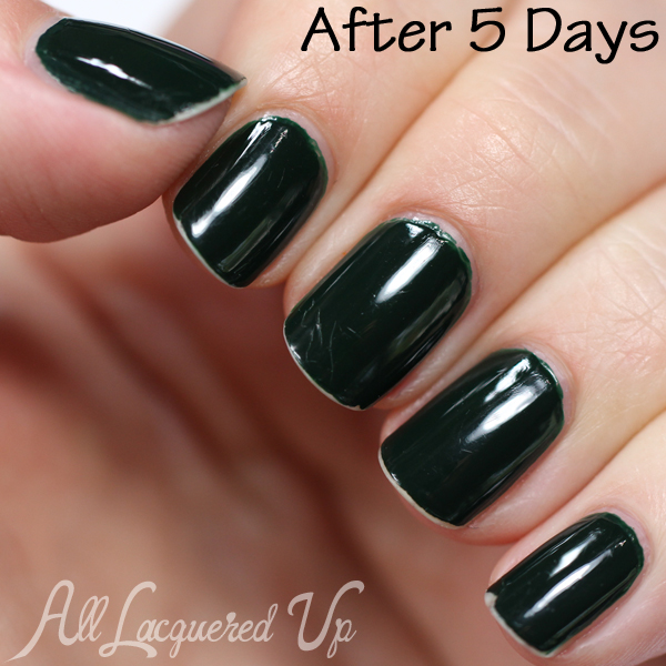 Nails Inc Nailkale Wear Test via @alllacqueredup