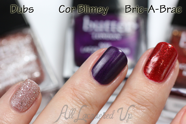 butter LONDON Fall 2014 - Brick Lane via @alllacqueredup