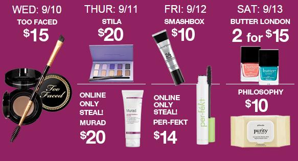 Best of ULTA 21 Days of Beauty Steals - Week 1