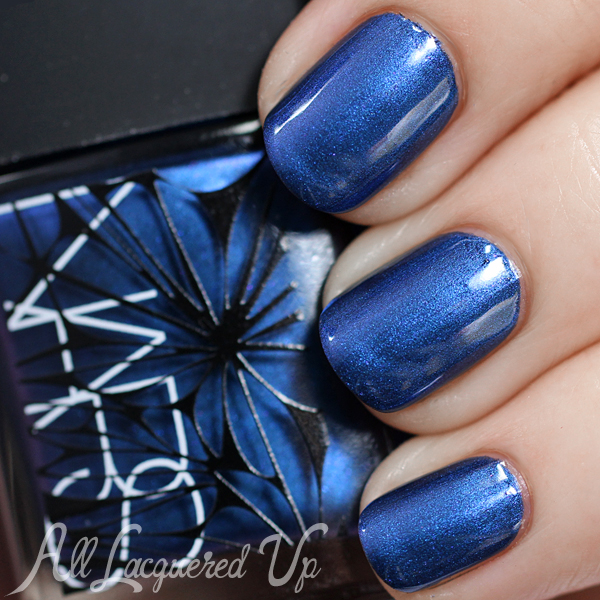 NARS Barents Sea Holiday 2014 nail polish swatch via @alllacqueredup