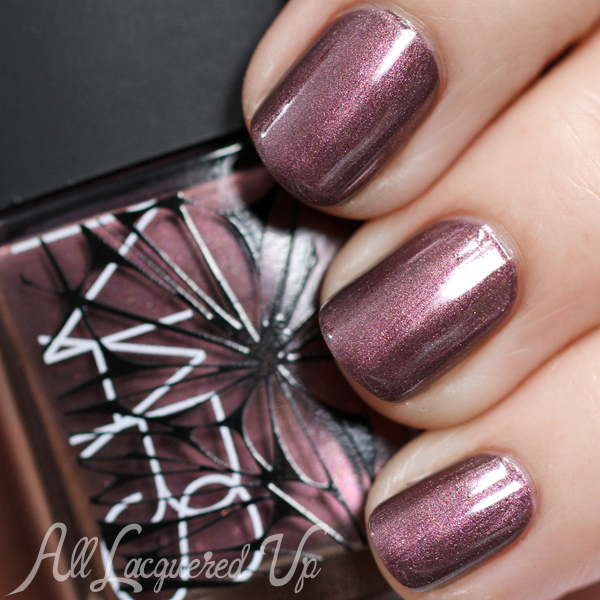 NARS Sherwood Holiday 2014 nail polish swatch via @alllacqueredup