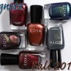 Zoya Fall 2014 Ignite Collection Swatches and Review