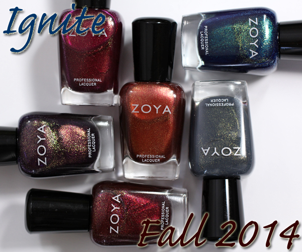 Zoya Ignite - Fall 2014 via @alllacqueredup
