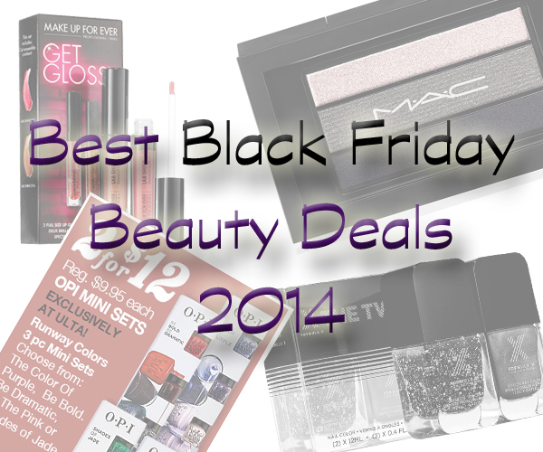 Black Friday Beauty Sales Deals 2014 via @alllacqueredup