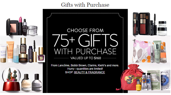 Nordstrom GWP Cyber Monday via @alllacqueredup