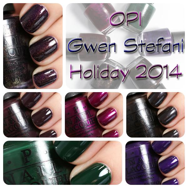 OPI Gwen Stefani for Holiday 2014 via @alllacqueredup