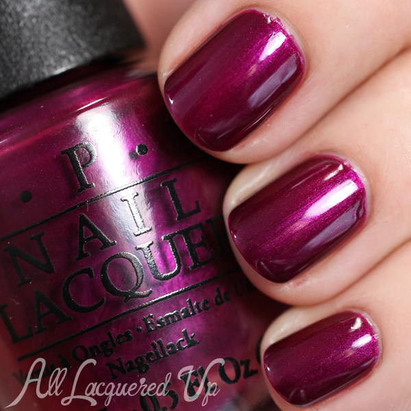 OPI Kiss Me Or Elf - Holiday 2014 via @alllacqueredup