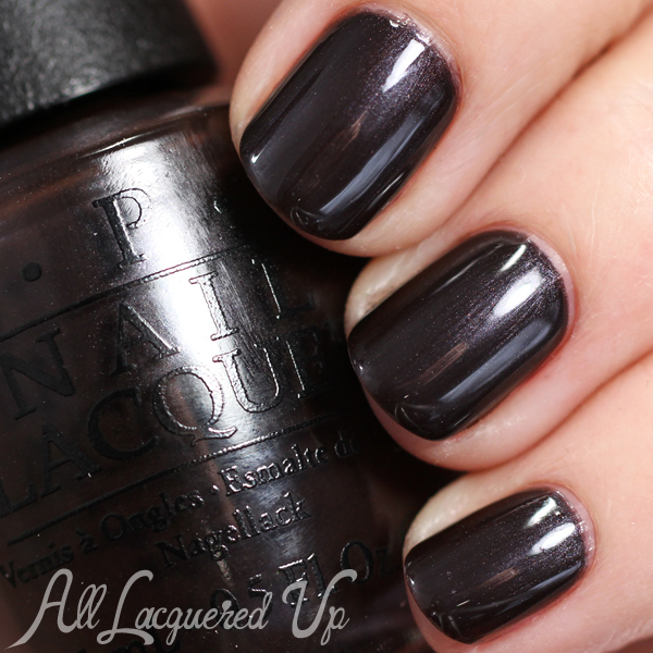 OPI Love Is Hot & Coal - Holiday 2014 via @alllacqueredup