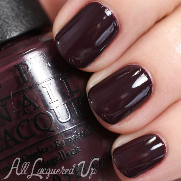 OPI Sleigh Parking Only - Holiday 2014 via @alllacqueredup