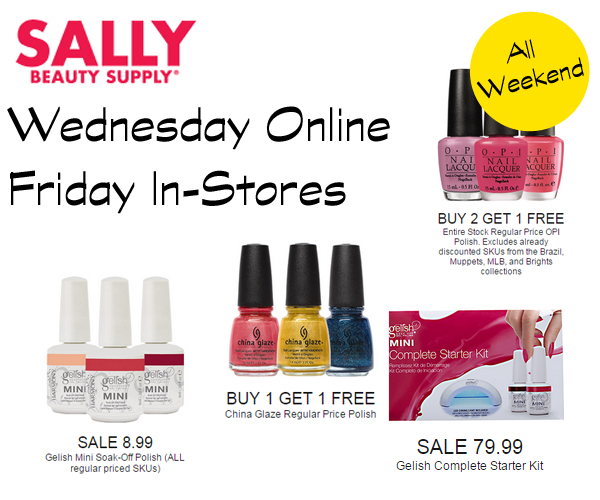 Sally Beauty Black Friday 2014 via @alllacqueredup