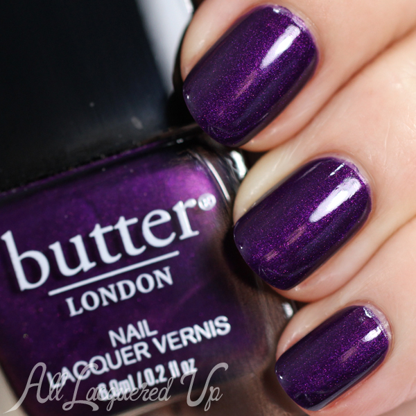 butter LONDON Cor Blimey Fall 2014 via @alllacqueredup