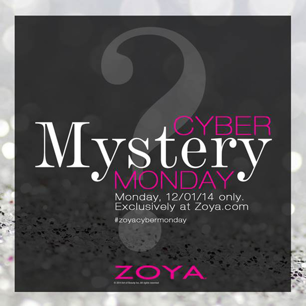 Zoya Cyber Monday 2014 via @alllacqueredup