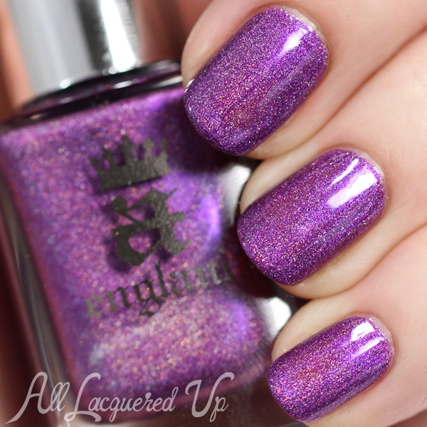 A-England Crown of Thistles swatch via @alllacqueredup