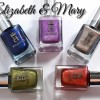 a-england Elizabeth and Mary Swatches & Review