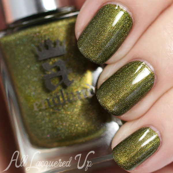 A-England Fortheringhay Castle swatch via @alllacqueredup