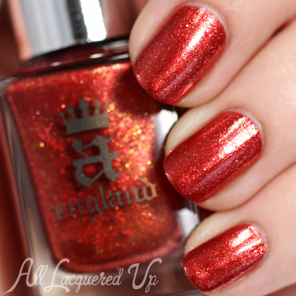 A-England Gloriana swatches via @alllacqueredup