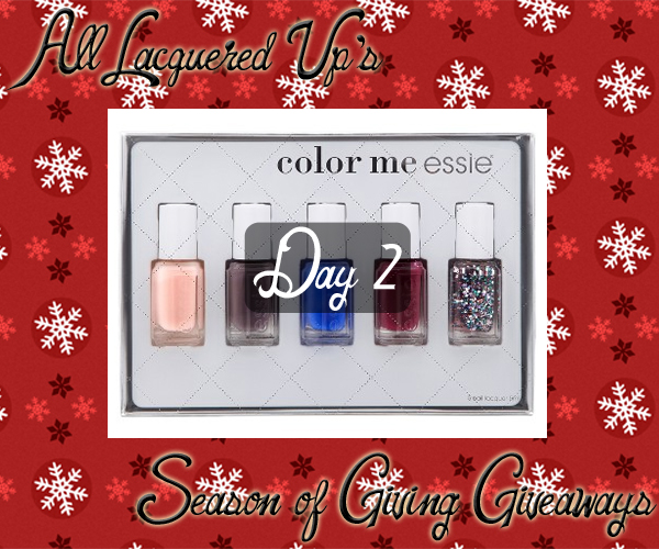 ALU Giveaways 2014 - Essie Holiday 2014 Gift Set via @alllacqueredup
