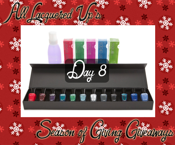 ALU Giveaways 2014 - Zoya Gift Pack via @alllacqueredup