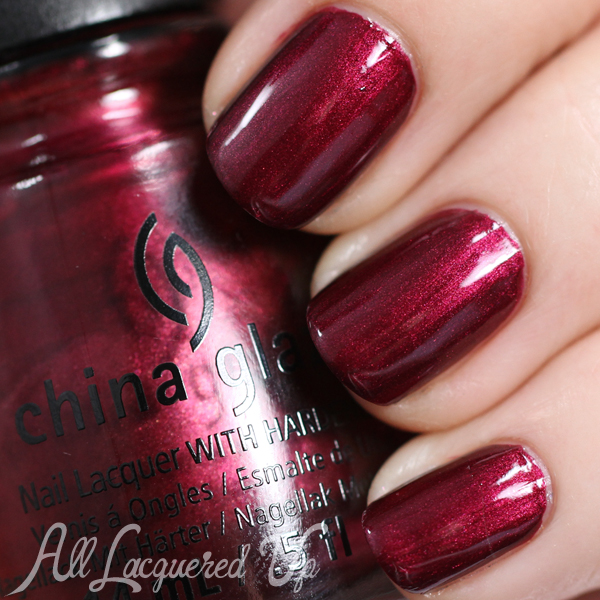 China Glaze Define Good - Holiday 2014 via @alllacqueredup