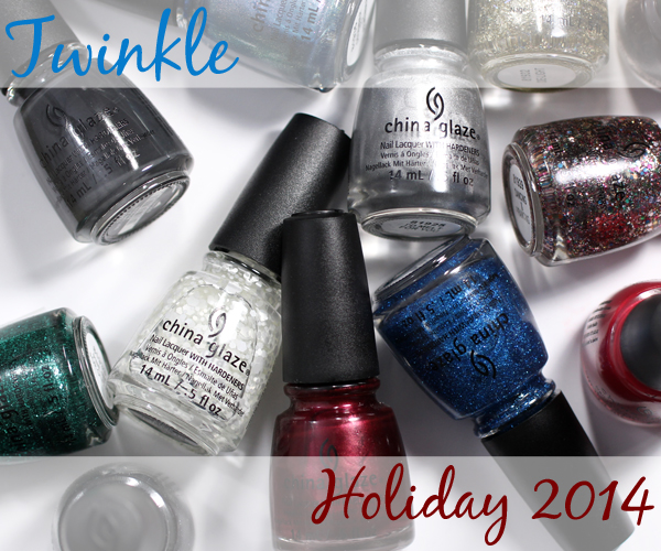 China Glaze Holiday 2014 - Twinkle via @alllacqueredup