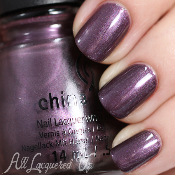 China Glaze No Peeking - Holiday 2014via @alllacqueredup