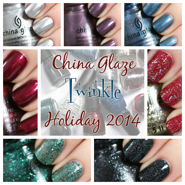 China Glaze Twinkle for Holiday 2014 via @alllacqueredup