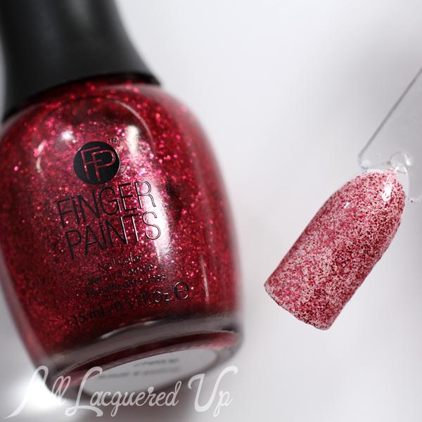 FingerPaints Sugar & Spice Glitter via @alllacqueredup