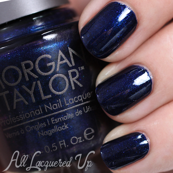 Morgan Taylor New Year, New Blue - Holiday 2014 via @alllacqueredup