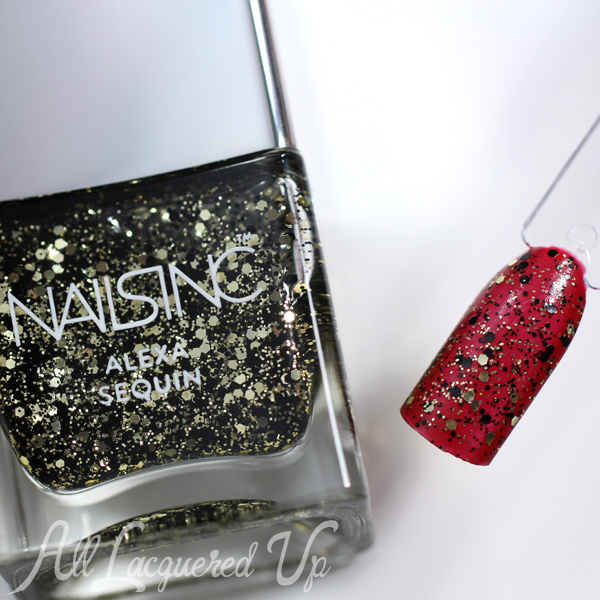 Nails Inc Alexa Sequin Glittervia @alllacqueredup