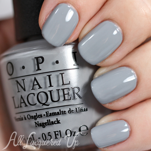 OPI Cement the Deal - Fifty Shades of Grey via @alllacqueredup