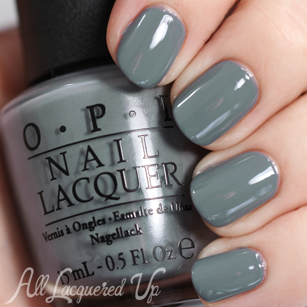 OPI Embrace The Gray - Fifty Shades of Grey via @alllacqueredup