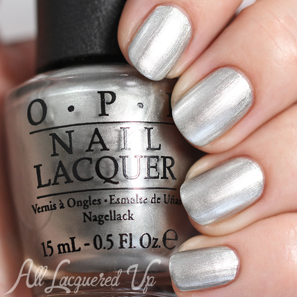 OPI My Silk Tie - Fifty Shades of Grey via @alllacqueredup