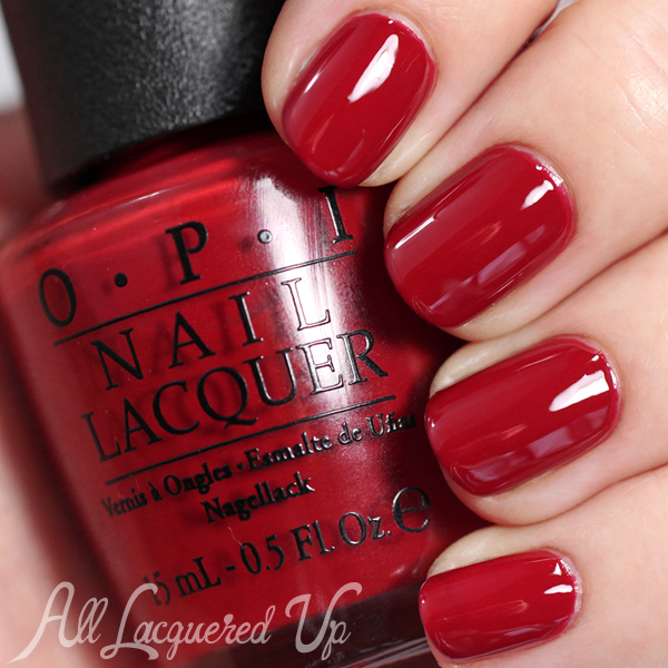 OPI Romantically Involved - Fifty Shades of Grey via @alllacqueredup