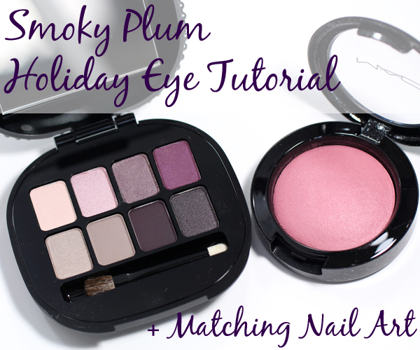 Smoky Plum Eye Tutorial - Makeup Wars via @alllacqueredup