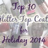 The Best Glitter Top Coats for Holiday 2014