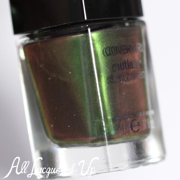 COVERGIRL Emerald Blaze duochrome via @alllacqueredup