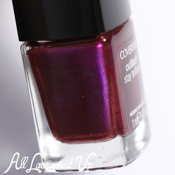COVERGIRL Fuchsia Flame bottle via @alllacqueredup