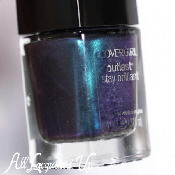 COVERGIRL Teal On Fire duochrome via @alllacqueredup