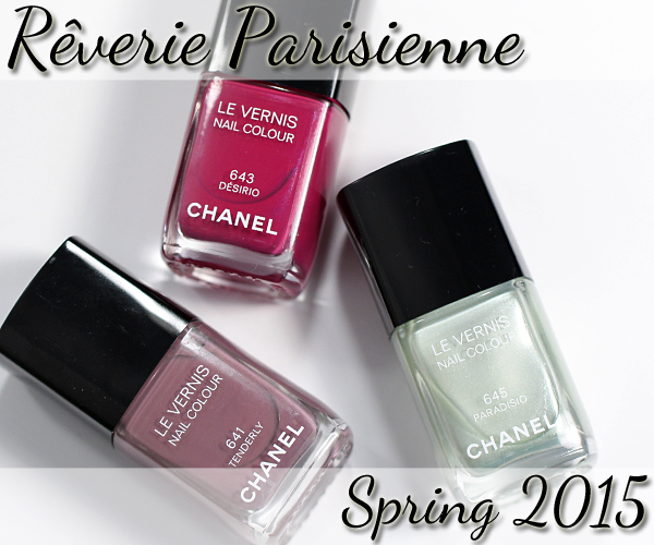 Chanel Spring 2015 Makeup Collection - Nails via @alllacqueredup