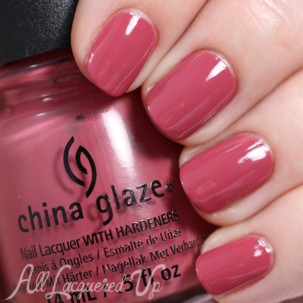 Marsala Nail Polish - China Glaze Fifth Avenue via @alllacqueredup