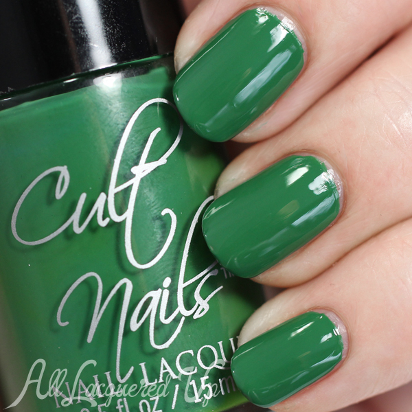 Cult Nails Flash swatch (glossy) from the Secret Collection via @alllacqueredup