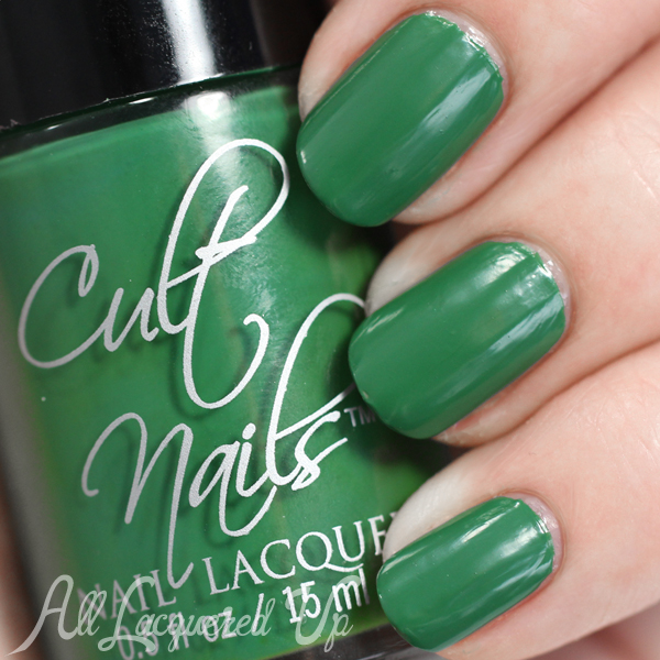 Cult Nails Flash swatch (satin) from the Secret Collection via @alllacqueredup